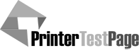 printer test page logo